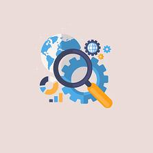 Illustration für Suchmaschinenoptimierung (SEO)