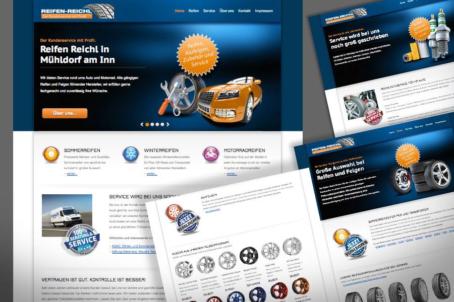 Beispiel für dynamische HTML5 Webseite